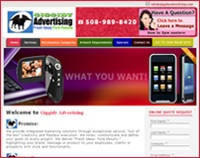 Giggidy Advertising Promotions Site